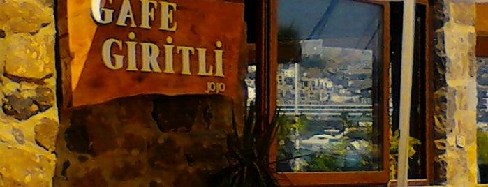 Gafe Giritli is one of Tempat yang Disimpan Handan.