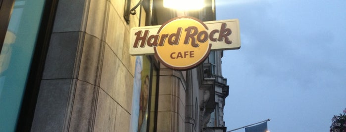Hard Rock Cafe London is one of Inglaterra.