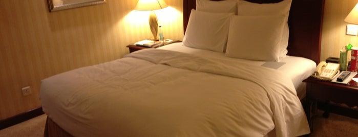 滨江万丽酒店 Renaissance Tianjin Downtown Hotel is one of Hotels.