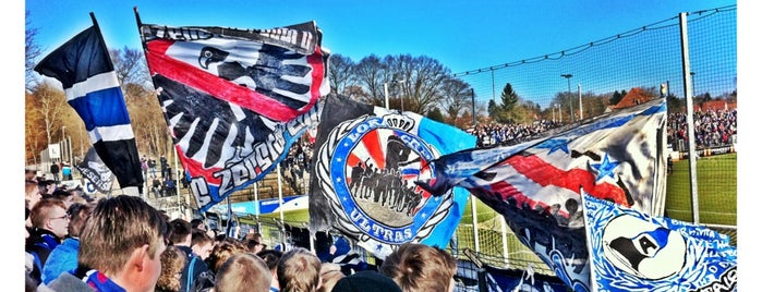 Karl-Liebknecht-Stadion is one of Берлин (edit).