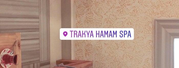 Trakya Hamamı is one of Baranoğlu cafe pastane restorant.