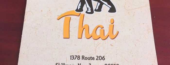 Ricky's Thai is one of Princeton.