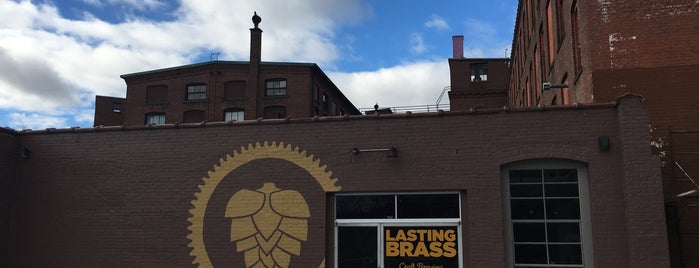 Lasting Brass Brewing Co. is one of Breweries I've been to.