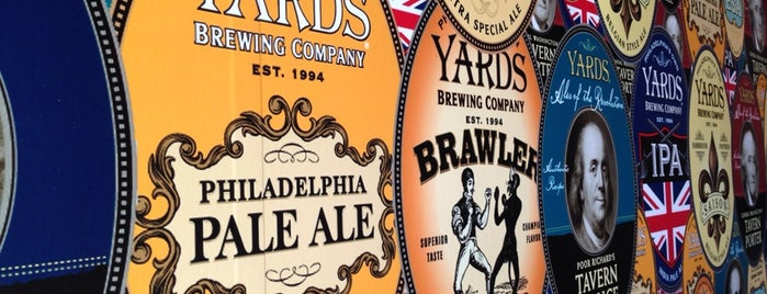 Yards Brewing Company is one of Breweries USA.