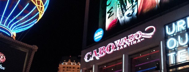 Cabo Wabo Cantina is one of Must See Las Vegas.