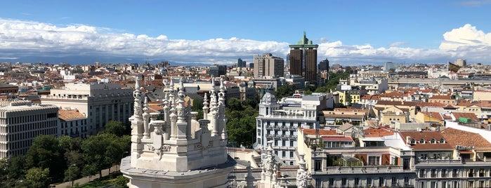 Mirador del Palacio de Cibeles is one of Lugares favoritos en España.