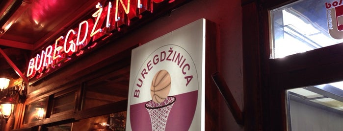 Buregdžinica Bosna is one of Bosna.