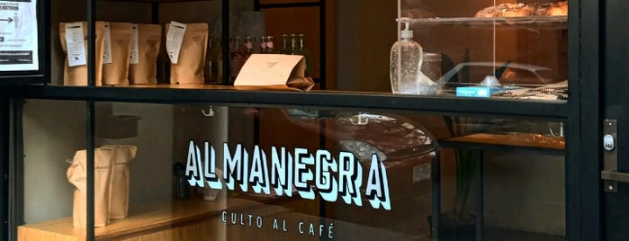 Almanegra Café is one of Quiero ir!.