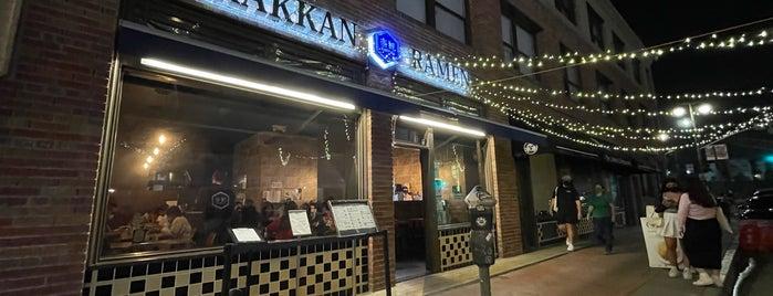 Rakkan Ramen is one of LA To-Do.
