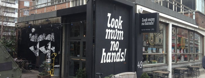 look mum no hands! is one of 100+ Independent London Coffee Shops.