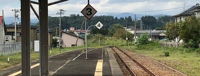 十和田南駅 is one of JR 키타토호쿠지방역 (JR 北東北地方の駅).