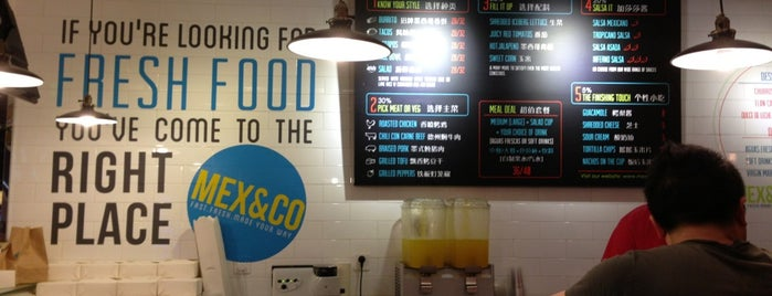 Mex & Co is one of Shanghai.