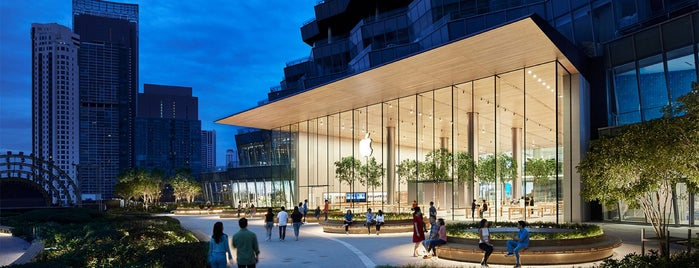 Apple Iconsiam is one of Orte, die Vee gefallen.