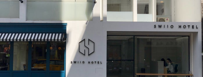 SWIIO HOTEL is one of Taipei.