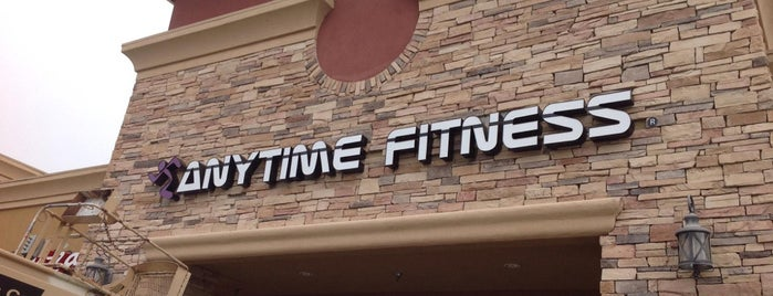 Anytime Fitness is one of Locais curtidos por Mark.