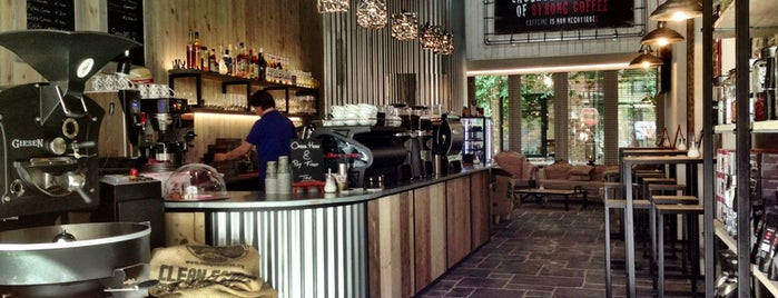 Espressobar - I Love Coffee is one of Tempat yang Disukai Priscilla.