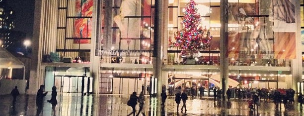Metropolitan Opera House is one of Places I have been to.