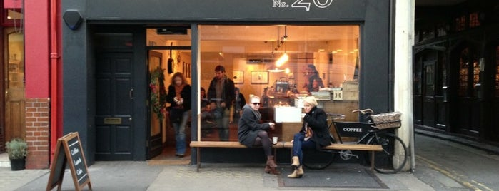 TAP Coffee No. 26 is one of The streets of London.