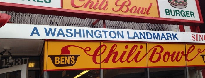 Ben's Chili Bowl is one of #UberApproved in DC.