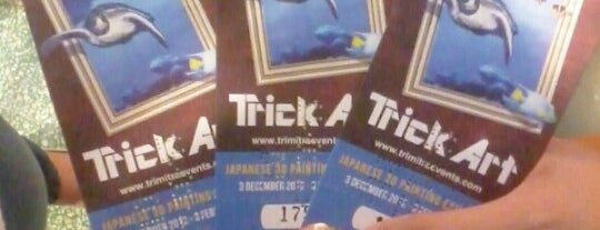 Trick Art Japanese 3D Painting Exhibition is one of Jakarta, Indonesia.