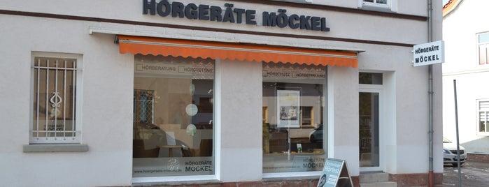 Hörgeräte Möckel Vacha is one of Hörgeräte Möckel GmbH.