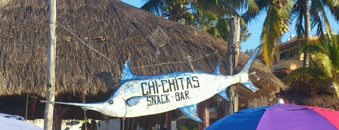 Chi Chi'sn' Charlie's is one of Cancun.