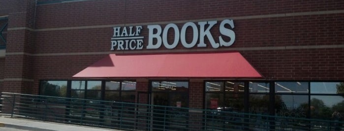 Half Price Books is one of book stores.