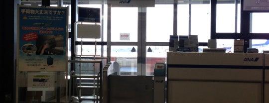 Gate 9B is one of 大阪国際空港(伊丹空港) 搭乗口 ITM gate.