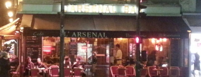L'Arsenal is one of Paris da Clau.
