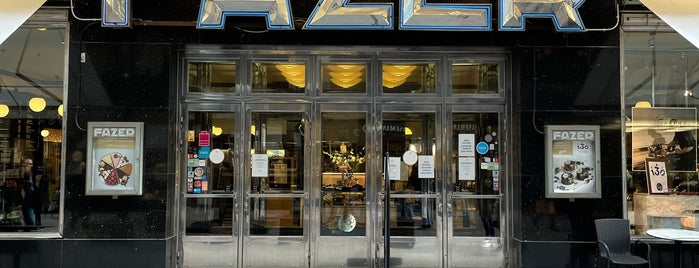 Karl Fazer Cafe is one of Helsinki, Finland.