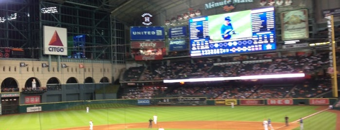 Minute Maid Park is one of Baseball Stadiums To Visit....