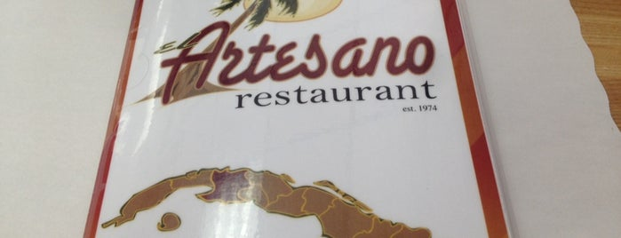 El Artesano Restaurant is one of Restaurants.