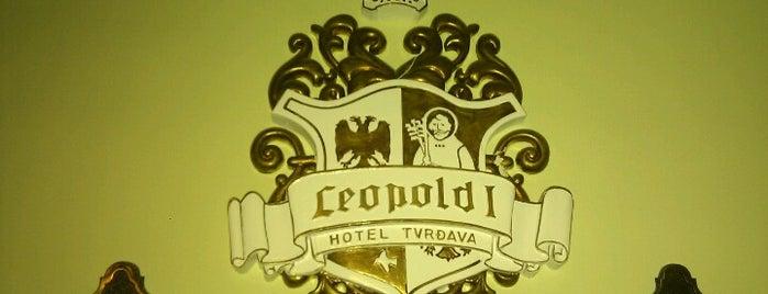 Hotel Leopold I is one of Gokhan'ın Beğendiği Mekanlar.