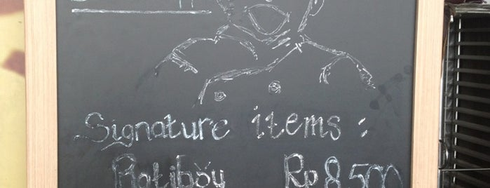Rotiboy terminal 2D is one of Bodetabek Simple Art of Eating.