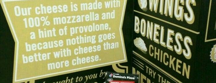 Domino's pizza is one of Orte, die Alexey gefallen.