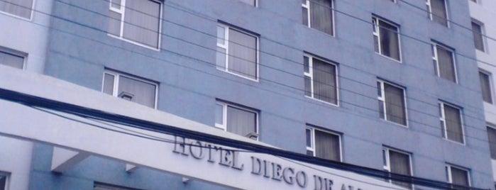 Hotel Diego De Almagro is one of Lugares frecuentes.