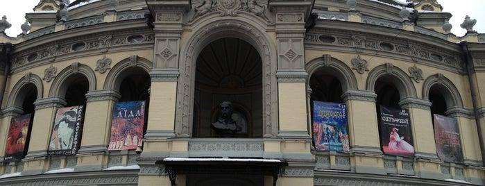Национальная опера Украины is one of план відвідати.