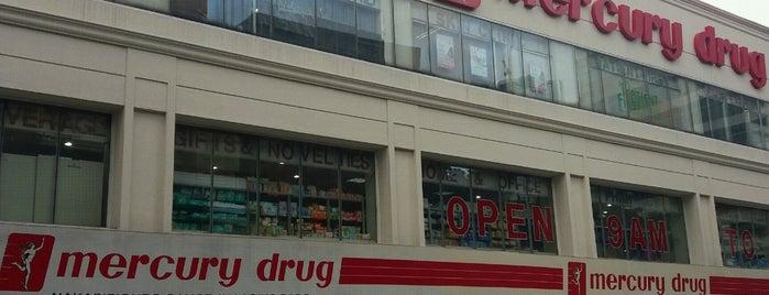 Mercury Drug is one of สถานที่ที่ Shank ถูกใจ.