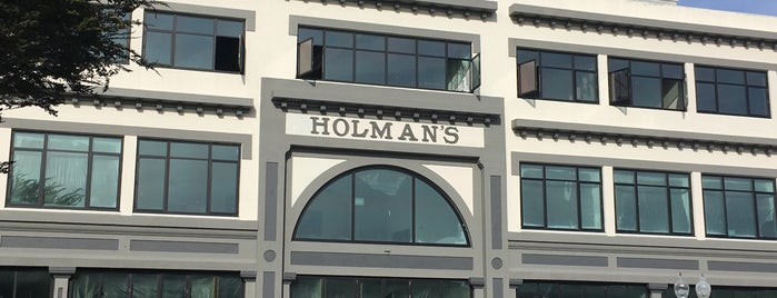 Holman's is one of Monterey.