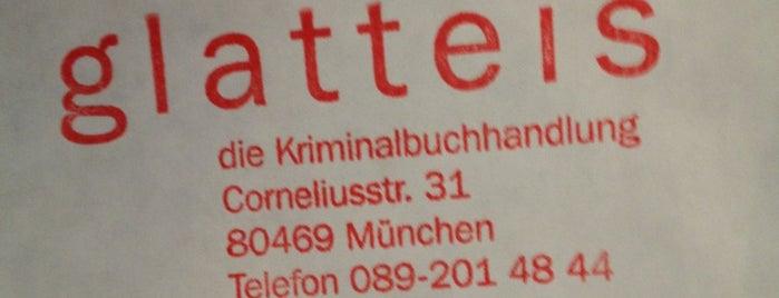 Glatteis Krimibuchhandlung is one of books of munich.