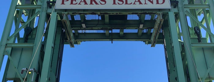 Peaks Island is one of New England.