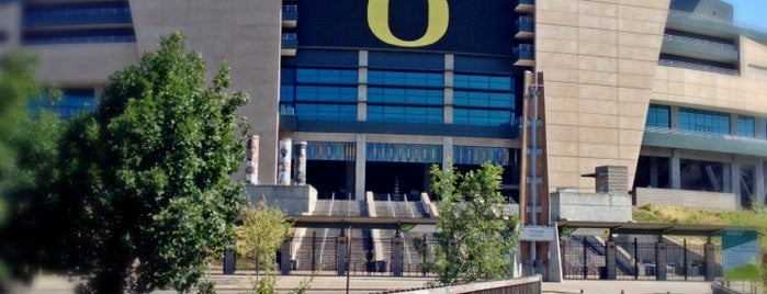 Autzen Stadium is one of badger.