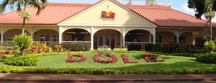 Dole Plantation is one of betelgeus.