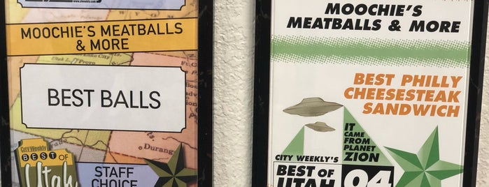 Moochie's Meatballs and More is one of DIners, Drive-Ins & Dives 5.