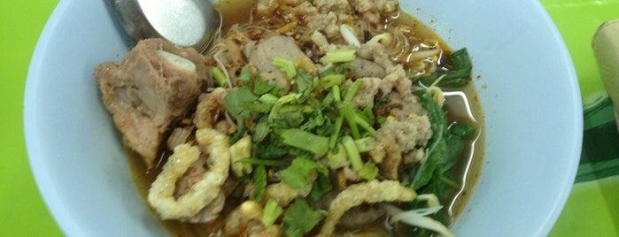 ก๋วยเตี๋ยวต้มยํา หมูตําลึง (ลุงจําเนียร) is one of BKK_Noodle House_1.