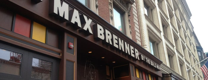 Max Brenner is one of Boston in the fall!.
