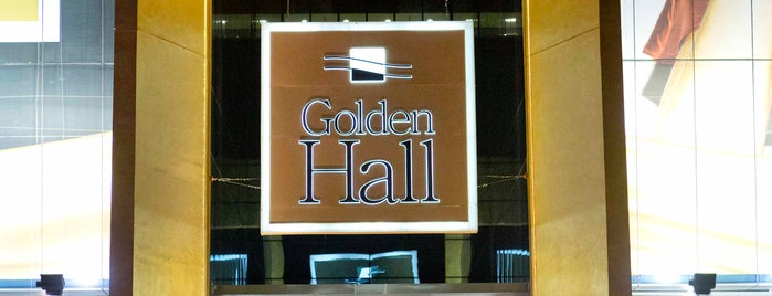 Golden Hall is one of have been.