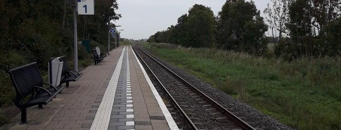 Station Hindeloopen is one of Friesland & Overijssel.
