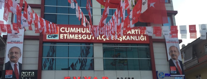 CHP Etimesgut İlçe Başkanlığı is one of Lieux sauvegardés par Arzum.