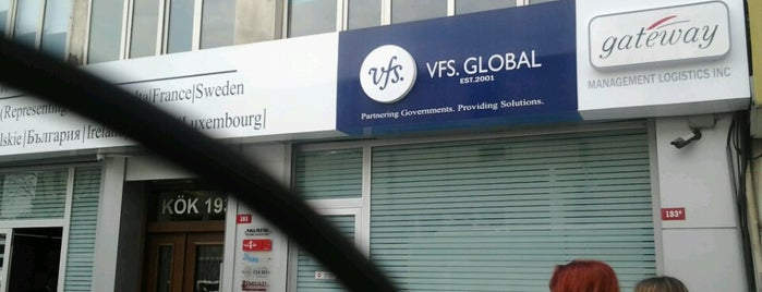 VFS Global is one of Lieux qui ont plu à Pınar.